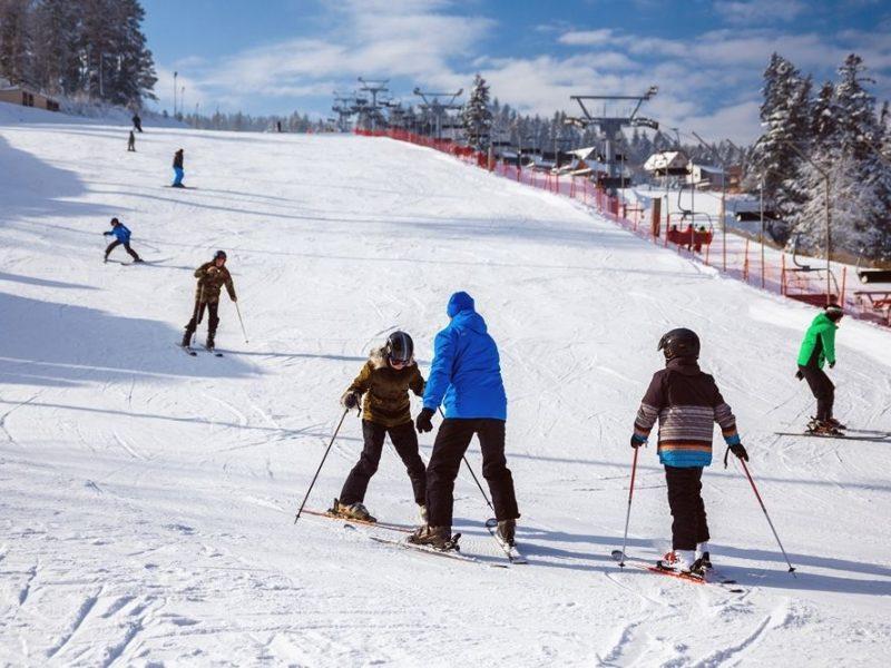 enryk Ski w Krynicy-Zdroju
