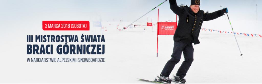 3 marca: III Mistrzostwa Świata Braci Górniczej w narciarstwie alpejskim i snowboardzie