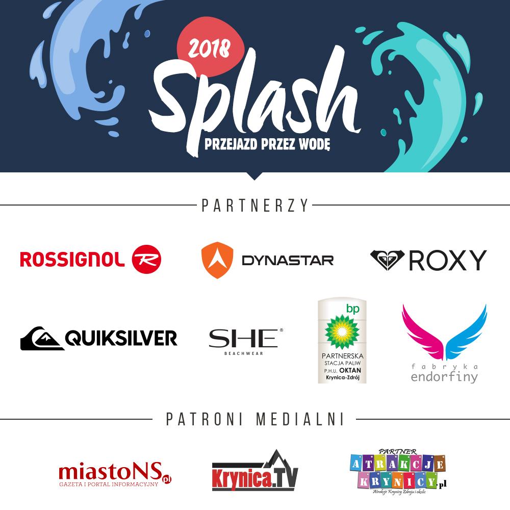 Splash Słotwiny Arena _partnerzy
