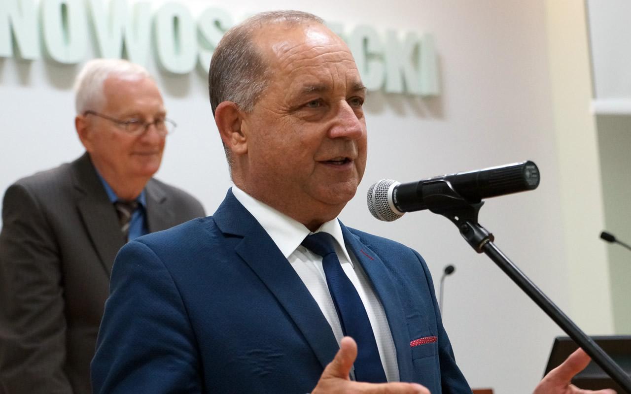 Starosta nowosądecki Marek Pławiak - fot. (olsz)