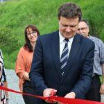 Otwarcie nowego placu zabaw w Krynicy - fot. Urząd Miejski w Krynicy-Zdroju