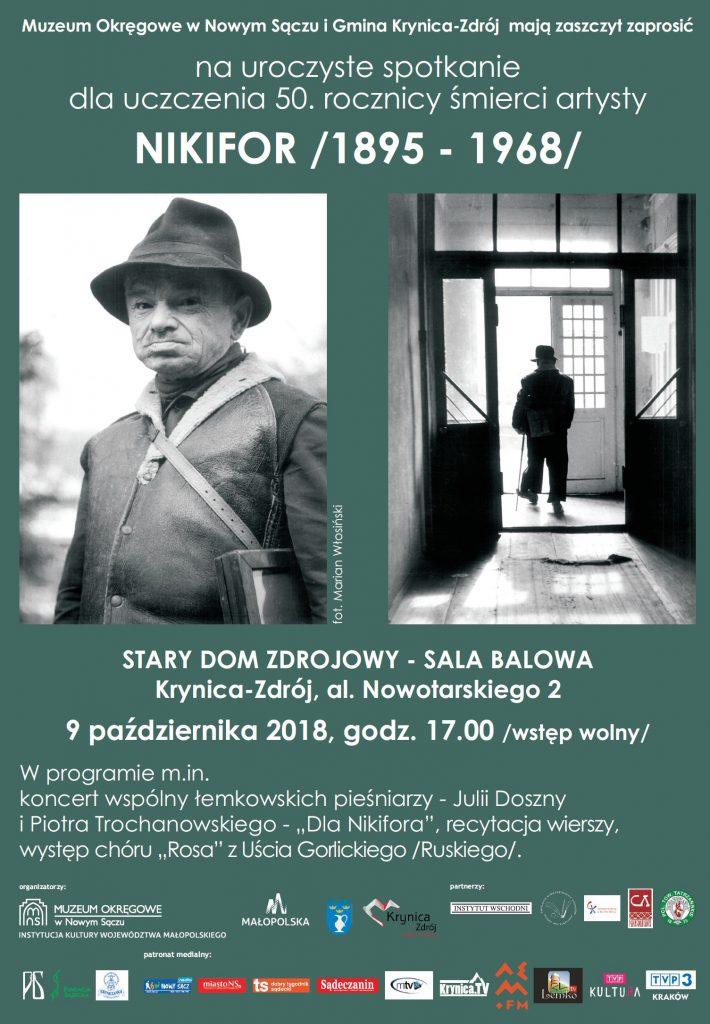 Uroczystości z okazjo 50-lecia śmierci Nikifora
