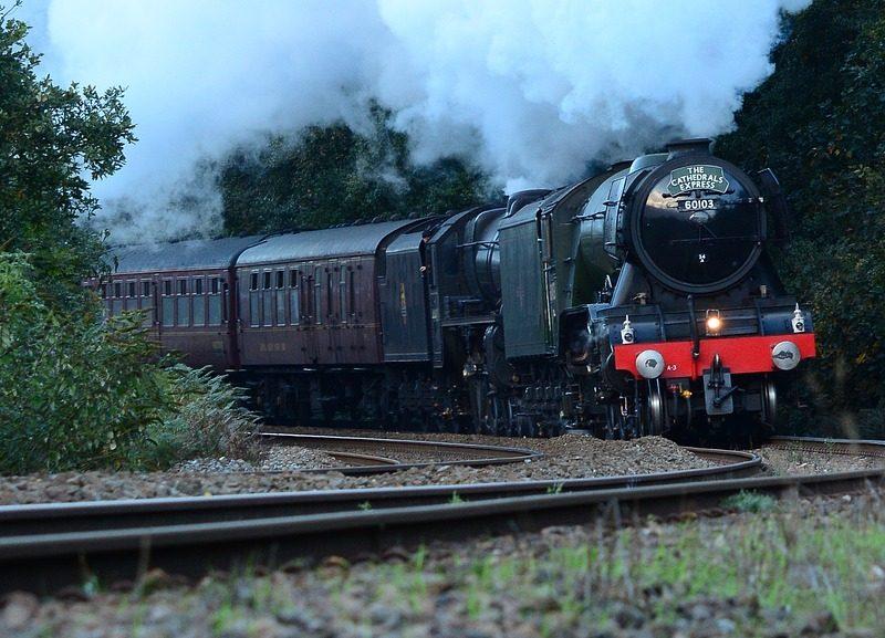 Pociąg retro - foto. pixabay.com