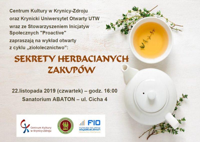 Sekrety herbacianych zakupów