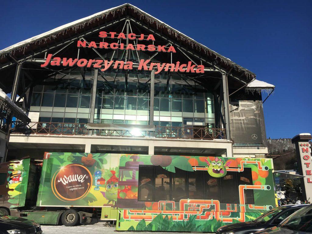 Słodki Wawel Truck podbił serca mieszkańców Krynicy Zdrój