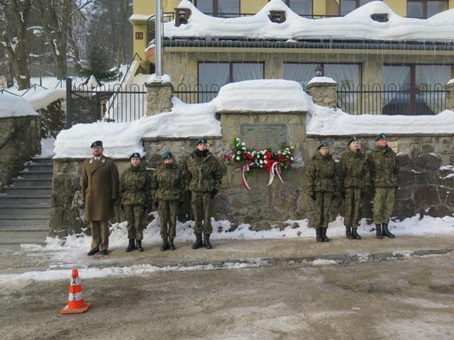 74. rocznica zakończenia okupacji hitlerowskiej w Krynicy-Zdroju