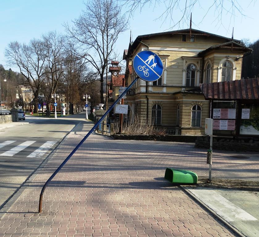 Krynica-Zdrój: Pijani mężczyźni dla zabawy  niszczyli mienie publiczne