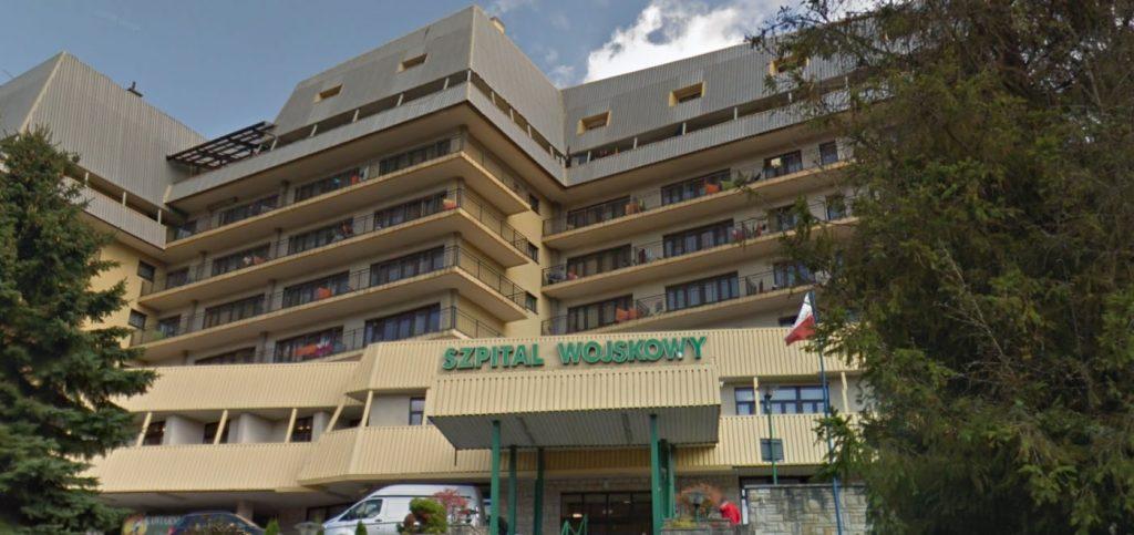 Krynica-Zdrój. Szpital Wojskowy został poddany 14-dniowej kwarantannie