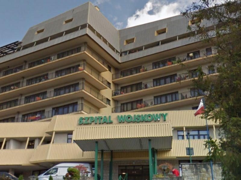 20 Wojskowy Szpital Uzdrowiskowo - Rehabilitacyjny - Fot. google street view