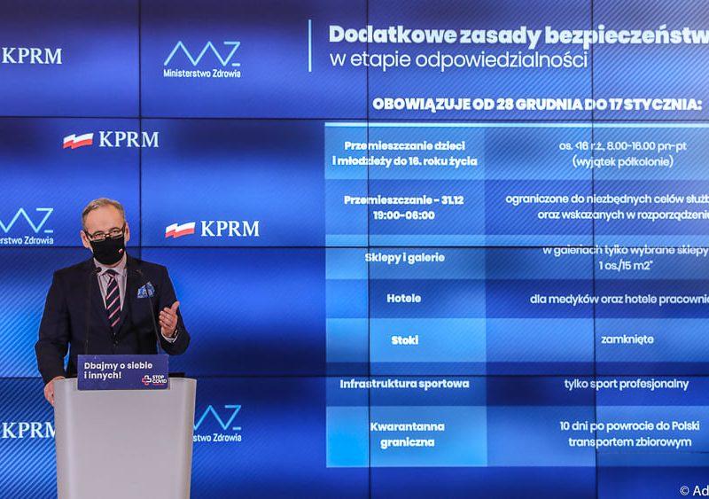 Adam Niedzielski Minister Zdrowia – źródło: gov.pl