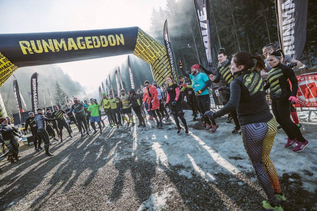 Malowniczy widok kontra mordercza trasa – Runmageddon w Wierchomli Małej kończy zimowy sezon