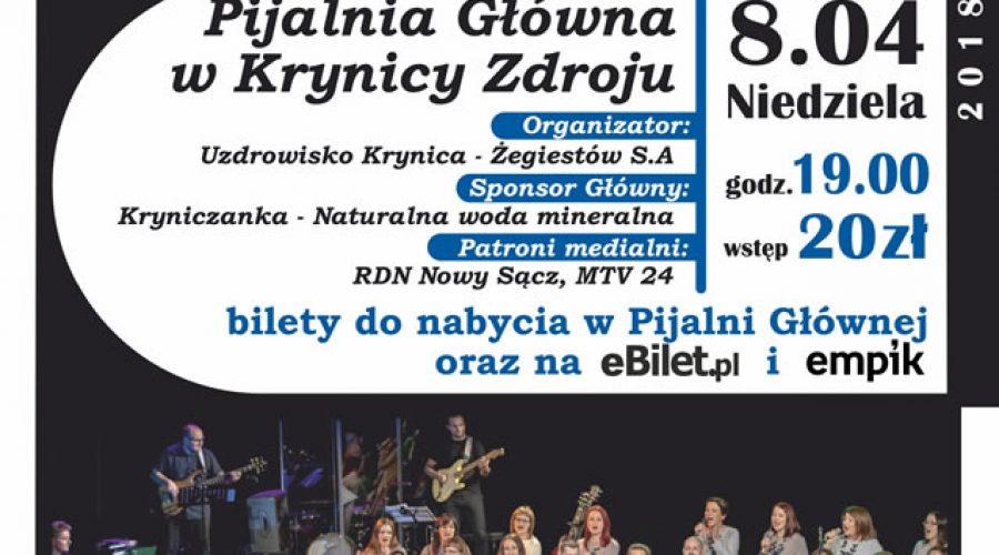 8 kwietnia: Koncert tarnowskiego chóru Gospel w Pijalni Głównej