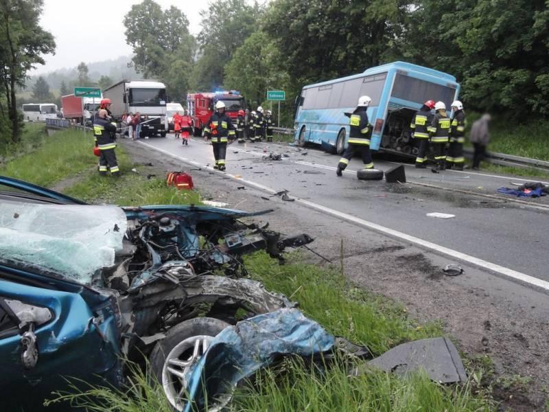 Nowa Wieś: Kolejny niebezpieczny wypadek na DK 75