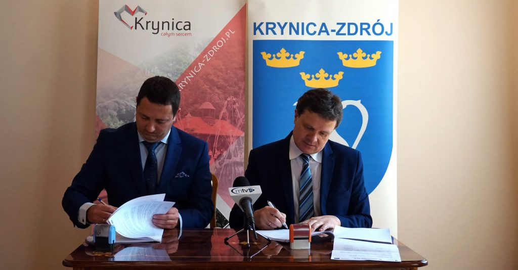 VeloKrynica – budowa uzdrowiskowej trasy turystyczno-rekreacyjnej w Krynicy-Zdroju