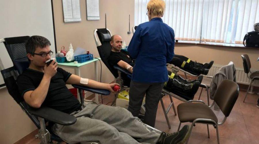 13 maja: Akcja poboru krwi w JRG Krynica Zdrój