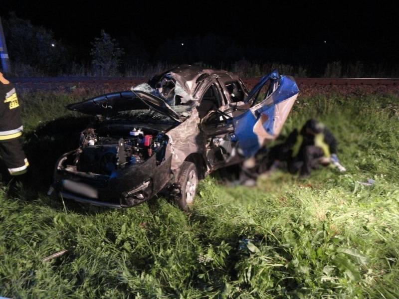 miertelny wypadek drogowy na ul. Grunwaldzkiej