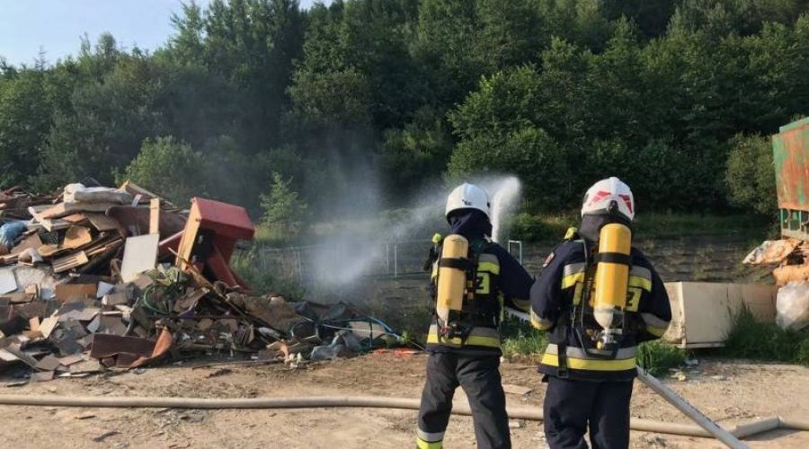 Krynica Zdrój – Ćwiczenia jednostek Straży Pożarnej