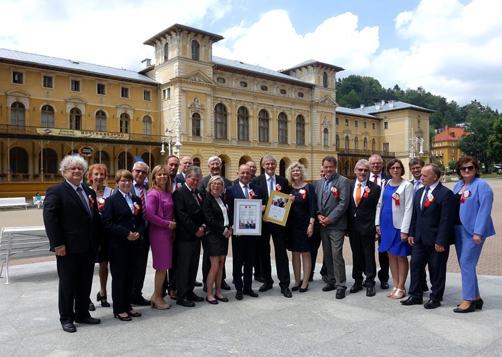 Powiat Nowosądecki świętował 20-lecie współpracy z niemieckim Powiatem UNNA
