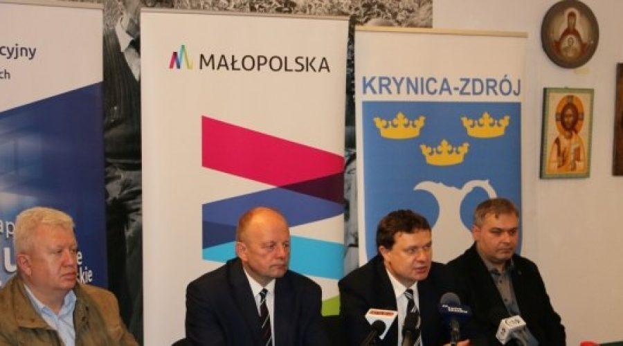 Przywrócenie zielonego salonu uzdrowiskowego na Polanie Janówka w Krynicy-Zdroju