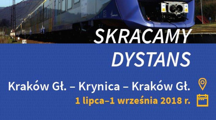 Kraków – Krynica-Zdrój – Kraków: Wakacyjne połączenie kolejowe