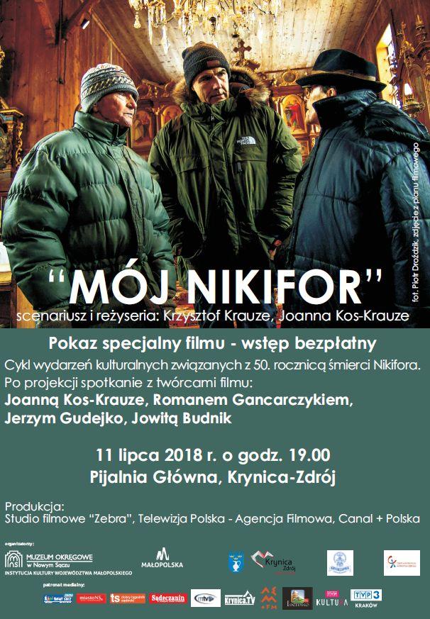 """11 lipca: Projekcja filmu """"Mój Nikifor"""""""