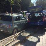 Parkowanie na ul. Kraszewskiego - fot. KM PSP NS