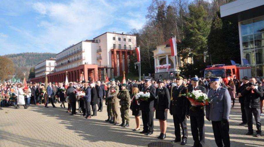 Krynica Zdrój: Obchody 100. rocznicy odzyskania niepodległości