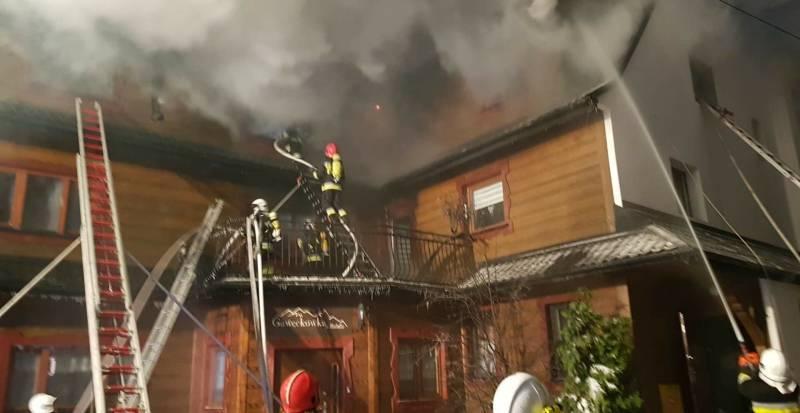 Krzyżówka: Pożar pensjonatu