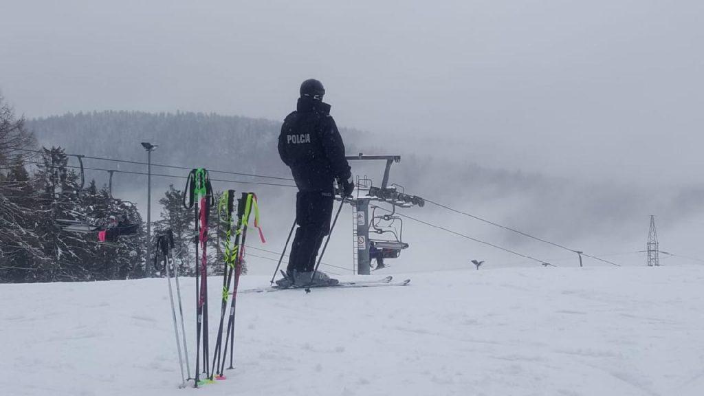 Policyjni będą pilnowali bezpieczeństwa na stokach narciarskich