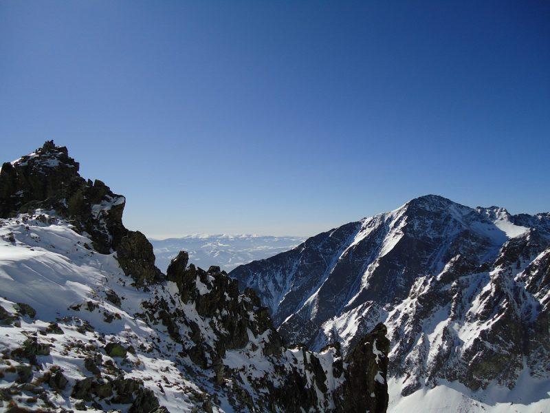 Góry Zimą - foto. KMP Nowy Sącz