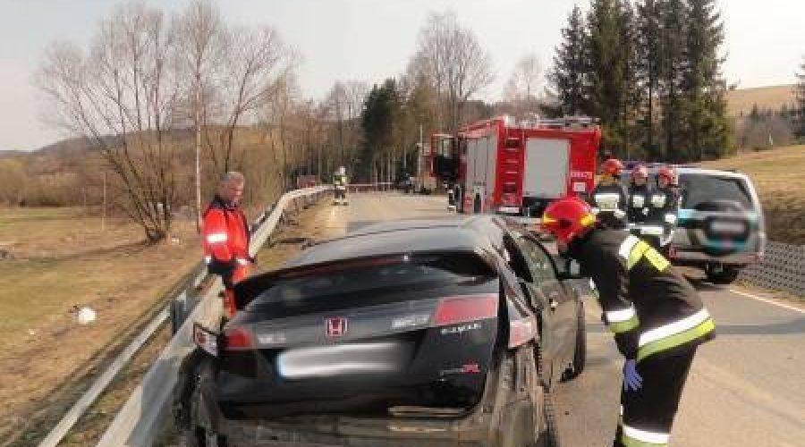 Śmiertelny wypadek drogowy w Tyliczu