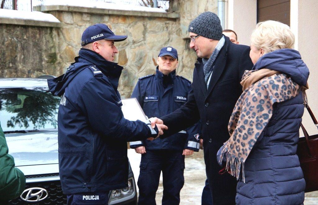 Kolejny radiowóz dofinansowany przez samorząd, tym razem w Krynicy-Zdroju