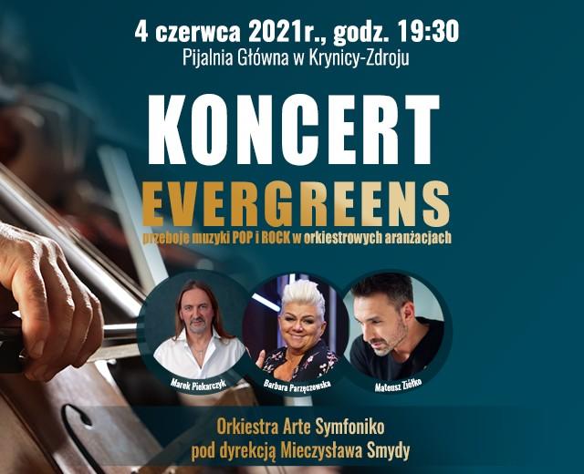 Koncert Evergreens w Pijalni Głównej